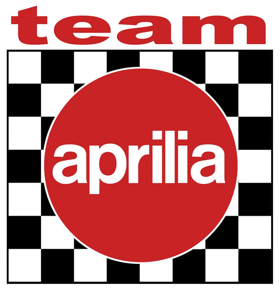 Sticker APRILIA : Couleur Course