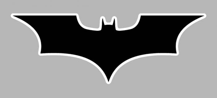 Sticker BATMAN : Couleur Course
